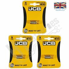3 x JCB LR1 1.5V SUPER ALKALINE BATTERY - N MN9100 LR1 E90 A34 AM5