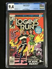 Logan's Run #6 CGC 9.4 * 1st solo Thanos Story