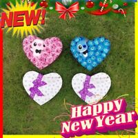 Lilo Stitch Bouquet plush Gift Valentine's Birthday christmas Rose Flower Doll