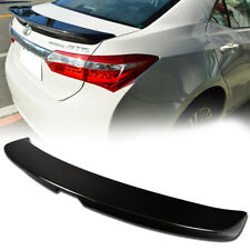 14-16 Carbon Fiber For Toyota Corolla Altis 11th Sedan Rear Trunk Spoiler Wing