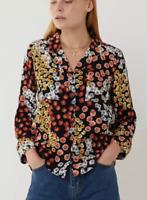 Brand New Ladies Ex Warehouse Multicoloured Mixed Daisy Pyjama Style Shirt Blous