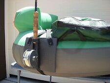 SINGLE FLY ROD HOLDER FOR FISHING FLOAT TUBE