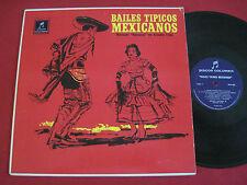 LATIN LP - BAILES TIPICOS MEXICANOS - MARIACHI NACIONAL DE ARCADIO ELIAS