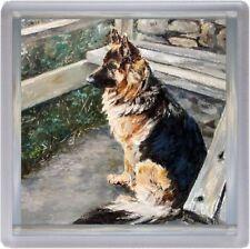German Shepherd Dog/Alsatian Coaster No 8  by Starprint