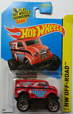 2014 Hot Wheels HW OFF-ROAD Monster Dairy Delivery Col. #122 (Red Version)