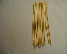 """50 Wood Dowell Rods Stick  Wooden Candy Lollipop Confectionary 12"""" x 1/4 WED120"""