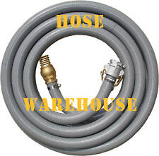 "Fire Suction Hose 2"" x 10mtr, camlock, foot valve FREE FREIGHT"