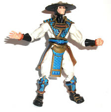 "Jazzwares Sega MORTAL KOMBAT RAYDEN 6"" video game toy figure RARE"