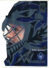1996-97 Donruss Elite Painted Warriors Promos 6 Felix Potvin Promo Sample