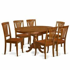 7  Pc  Dining  room  set  for  6-  Kitchen  dinette  Table  and  6  Kitchen ...