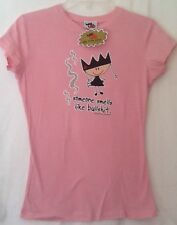 """NWT Ugly Little Bitch Women's Size Large Funny humor T-shirt  ~16""""x 23"""""""