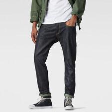 G Star 3301 New 51003 Indigo 36 waist 34 leg Tapered Slim Jeans Men's Jeans Raw