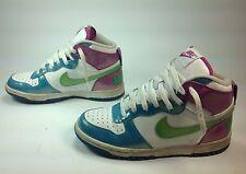 Women's Nike Multi Color Retro LaceUp High Top Athletic Tennis Shoes Sz.5.5