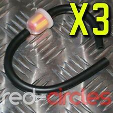 3x Mini Moto Quad / Atv Filtre à Carburant et Tuyau pour 47cc & 49cc Minimotos