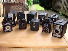 ALTISSA/Bilora/Agfa particolare-la raccolta (10) bel Boxkameras/pezzi da collezione-Top