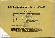 8 GA Entiers postaux Image de carte postale Fédéral P 86 415 218 A 1/1 jusqu'à A