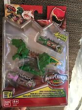 POWER RANGERS DINO addebito Morpher Booster Power Pack-No 'S 4 & 18 RARISSIMO Set