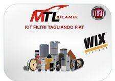 KIT FILTRI TAGLIANDO FIAT PANDA 1.1 4x4 50CV 37KW DAL 10/1991 AL 07/2004 WIX