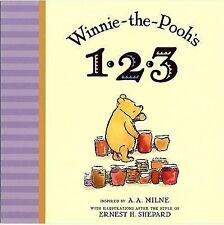 Winnie-The-Pooh: Winnie the Pooh's 1,2,3 by A. A. Milne (2009, Board Book)