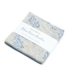 "CHARM PACK~BLUE BARN BATIKS~MODA FABRIC~40-5"" SQUARES~LAUNDRY BASKET QUILTS"