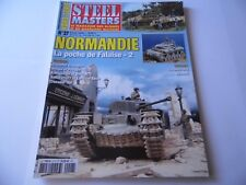 STEEL MASTERS HORS-SERIE ISSUE 27  - NORMANDIE  MILITARY/ WARGAMING MAGAZINE