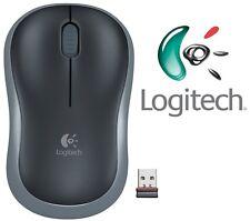 Logitech Nuevo M185 Grey Mouse Óptico Inalámbrico Compacto Para Pc Laptop Mac Linux