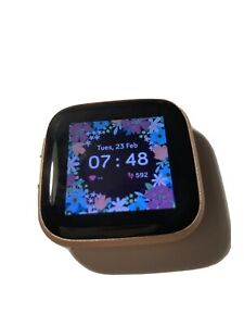 Fitbit Versa 2 Activity Tracker - Copper/rose pink rainbow
