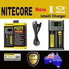 Nitecore NEW I2 Smart Universal Battery charger IMR Li-Ion LiFePO4 NiMH-Cd 18650