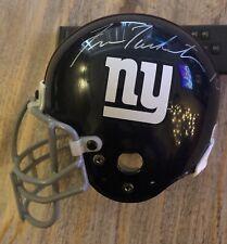 Fran Tarkenton New York Giants HOF Signed Mini Helmet No COA