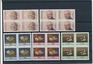 D200092 Liechtenstein 1990 Nice selection of MNH stamps in blocks