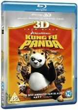 Kung Fu Panda 3d Blu-ray DVD UK BLURAY