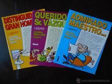 LAS CARTAS SOBRE LA MESA Nº 1, 2 Y 3 - BY VAZQUEZ - GLENAT (I1)