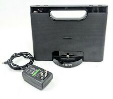 Sony (RDP-M7IPN) iPhone/iPod Lighting Speaker Docking System - No Remote - Works