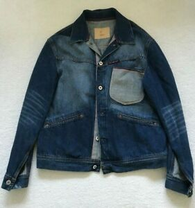 Paul Smith RED EAR Contrast Pocket Denim Jacket   Size L
