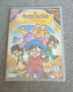 An American Tail 3 - The Treasure Of Manhattan Island (DVD, 2005) - Sealed