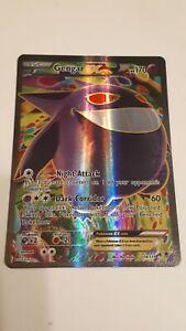 Pokemon 2014 Gengar Ex Full Art Holo #114/119