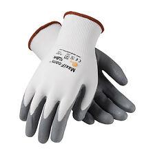 PIP MaxiFoam G-Tek Premium Nitrile Foam Coated Gloves MEDIUM 6 Pack (34-800-M)