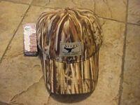 AWE Logo Avery Waterfowl Equipment Greenhead Gear Oil Cloth Hat Marsh Grass Cap