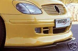 Mercedes-Benz Rieger OEM SLK 1st Génération R170 1997-2004 Avant Spoiler Neuf