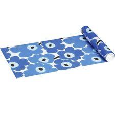 Marimekko Tischläufer Unikko Blue 33 x 480 cm