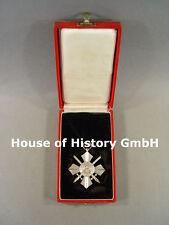642, Bulgarien: Militärverdienst Orden Ritterkreuz, versilbert, Verleihungsetui