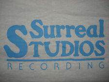 Vintage 1980s SURREAL RECORDING STUDIOS T SHIRT Anchorage Alaska Tourist MUSIC M