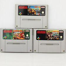 Snes - Donkey Kong Country 1-2-3 Für Super Nintendo