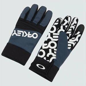 Oakley Factory Park Glove Pond Blue 2021 Gloves New Park Pipe Ski Snowboard S