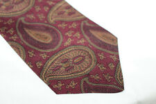 SAMBROOK WITTING Silk tie Made in England E95878