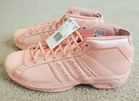 adidas Pro Model 2G Basketball Shoes Glow Pink Men's Size 10.5 (EH1951)