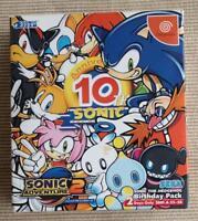 Dreamcast Sonic Adventure 2 Birthday Pack F/S JAPAN