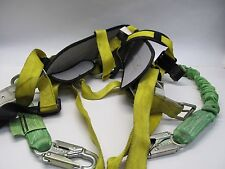 MILLER FALL PROTECTION SAFETY HARNESS MODEL 6414NH - SIZE LARGE
