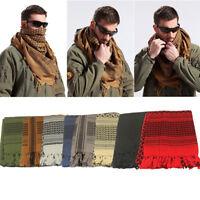 Tactical Thicken Keffiyeh Shemagh Desert Arab Scarf Shawl Neck Cover Head Wrap