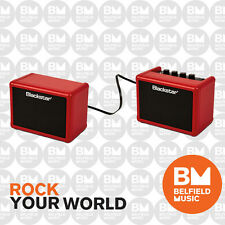 Blackstar Fly Stereo Pack Limited Edition Red 3w 2-Channel Battery Guitar Amp